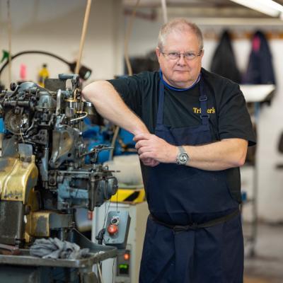 Stephen Bennett - Stitcher and Utility Worker
