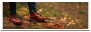 Stow Country Boot in Marron Calf Leather