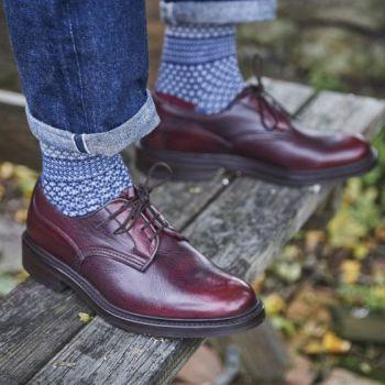 Tricker's Kudu Leather Woodstock Shoe