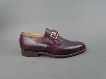 Lewiston Single Buckle Monk Strap Shoe