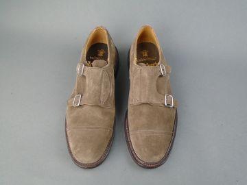 Rufus Double Buckle Monk Strap Shoe