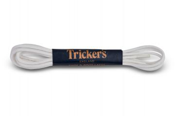 Tricker's Laces White Cotton